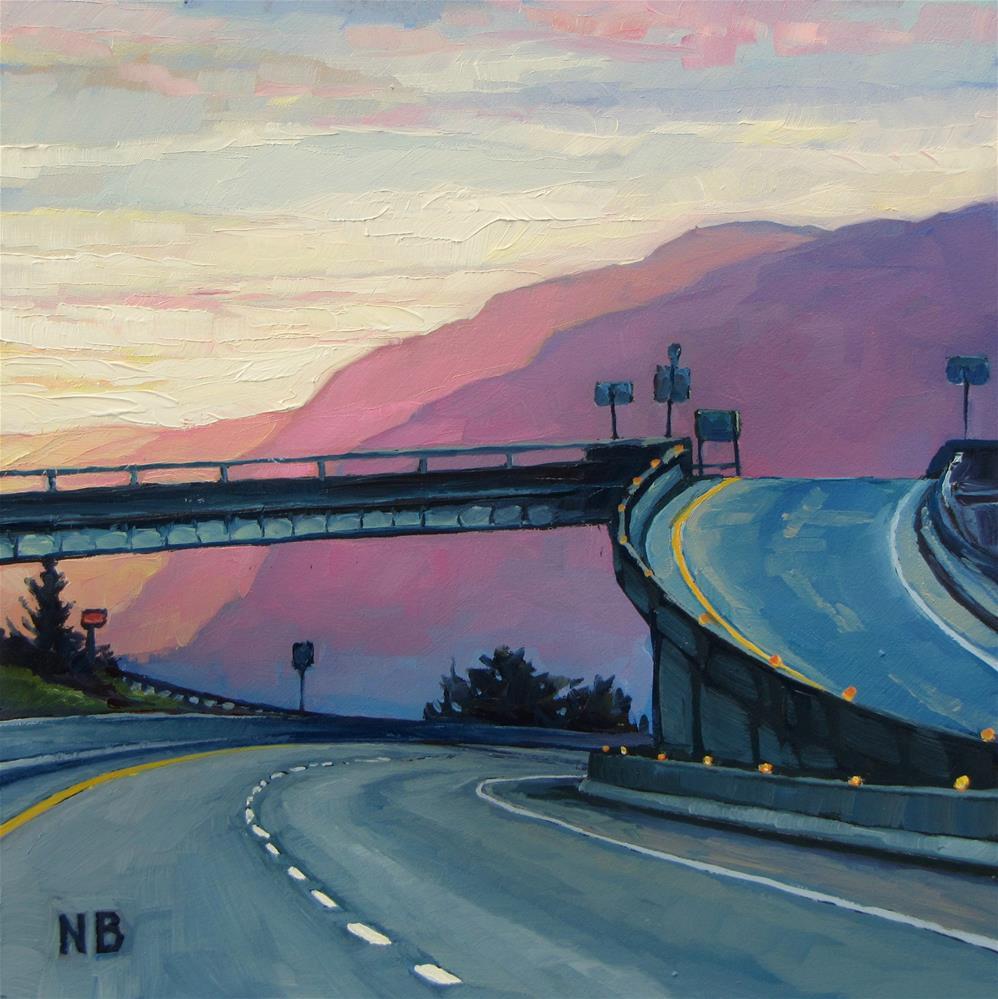 """Dawn's Early Light"" original fine art by Nora Bergman"