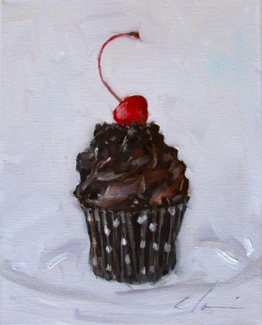 """Eat Me"" original fine art by Clair Hartmann"
