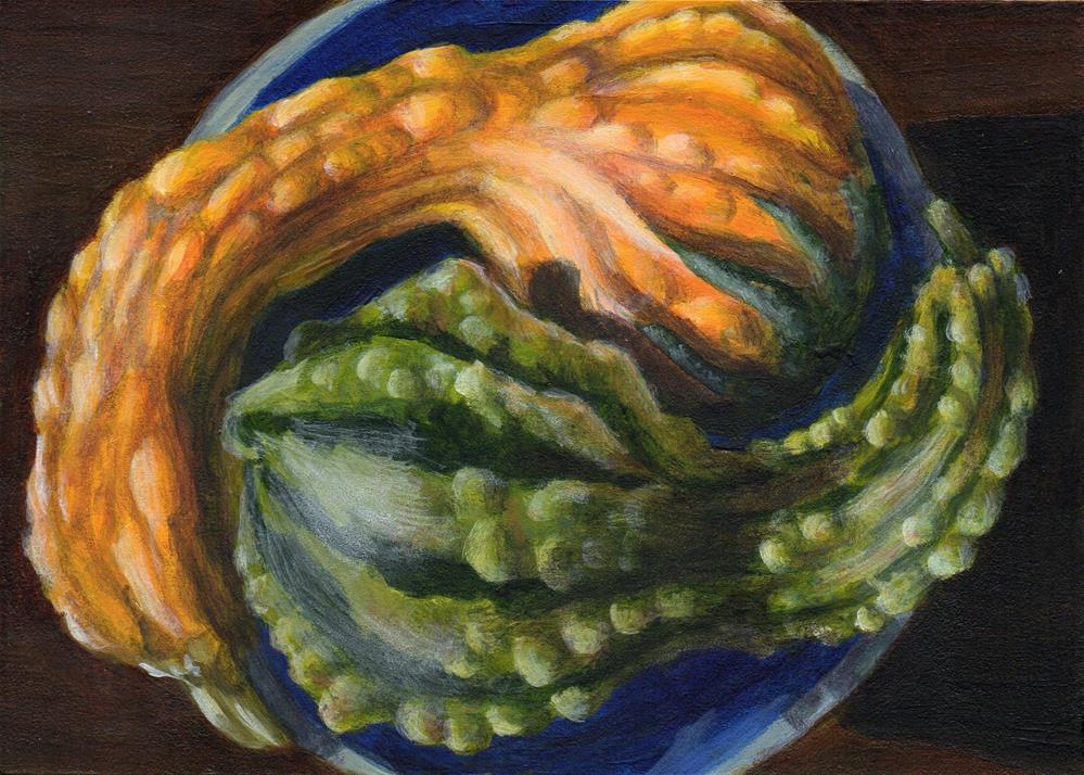 """Yin and Yang"" original fine art by Debbie Shirley"