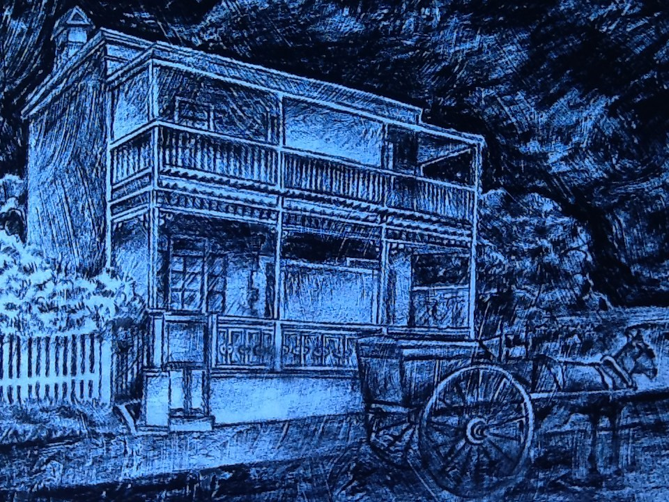 """111 ANNIE STREET 1"" original fine art by Trevor Downes"