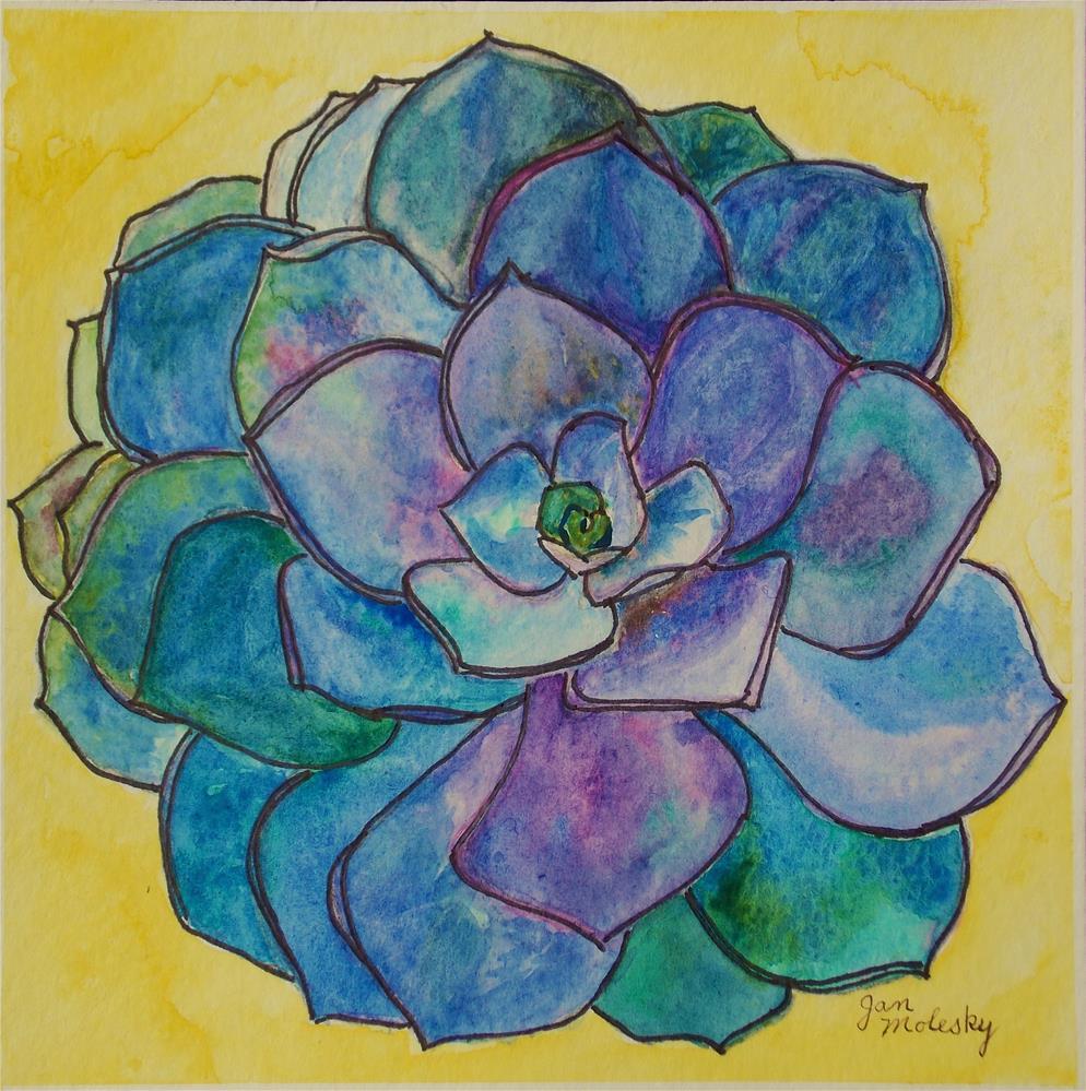 """""""Kaleidoscope Beauty"""" original fine art by Jan Molesky"""