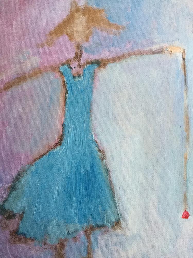 """""""Yo yo Lisa's sister"""" original fine art by pamela kish"""