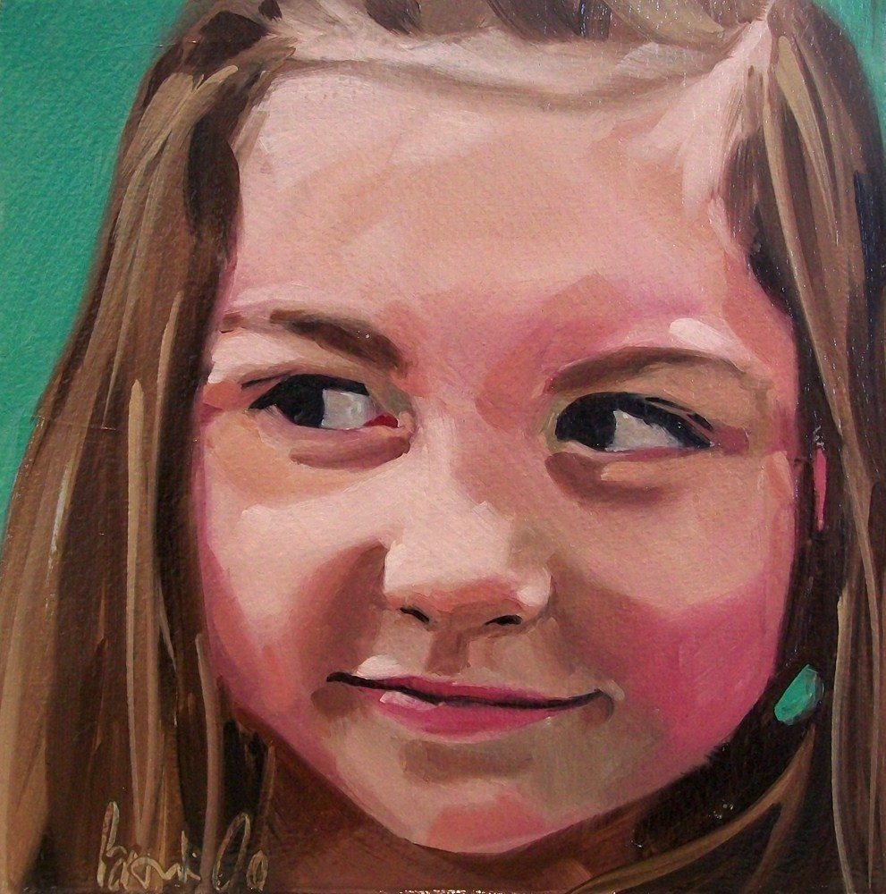 """Girl 17"" original fine art by Brandi Bowman"