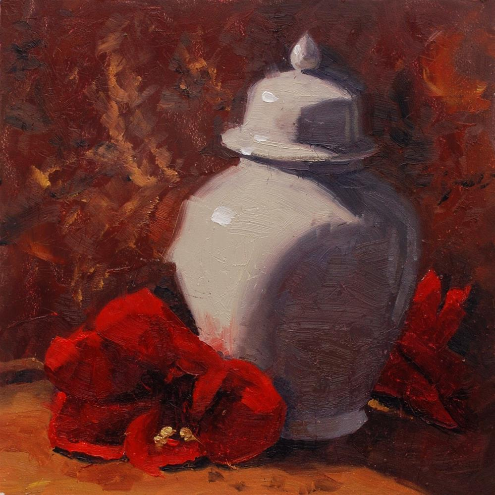 """Still Here"" original fine art by Susan McManamen"