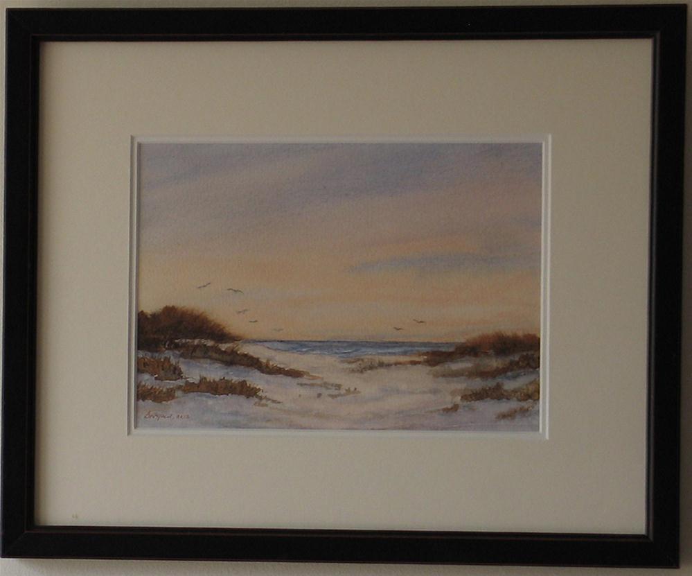 """""""Evening Flight"""" original fine art by Vikki Bouffard"""