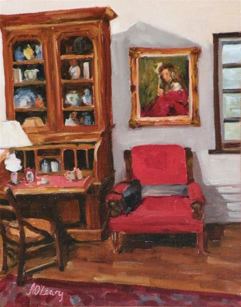 """""""Quang Ho Study"""" original fine art by Alice O'Leary"""
