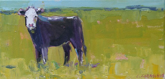 """on a country road"" original fine art by Carol Carmichael"