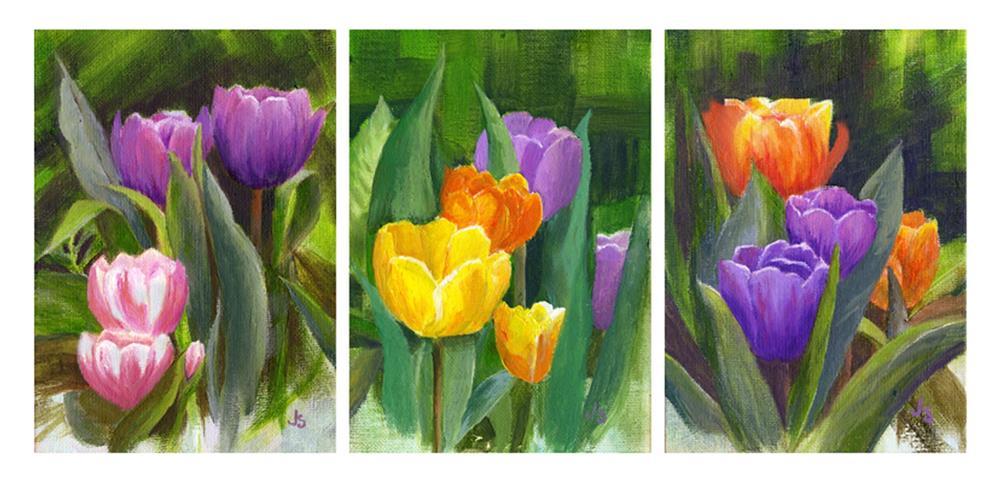 """Spring Beckons"" original fine art by Jeanne Strohrmann"