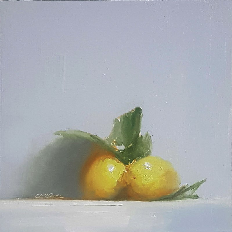 """Lemons"" original fine art by Neil Carroll"