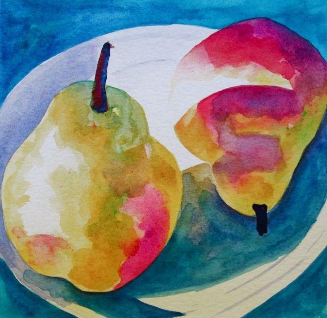 """Hot Plate"" original fine art by Patricia MacDonald"