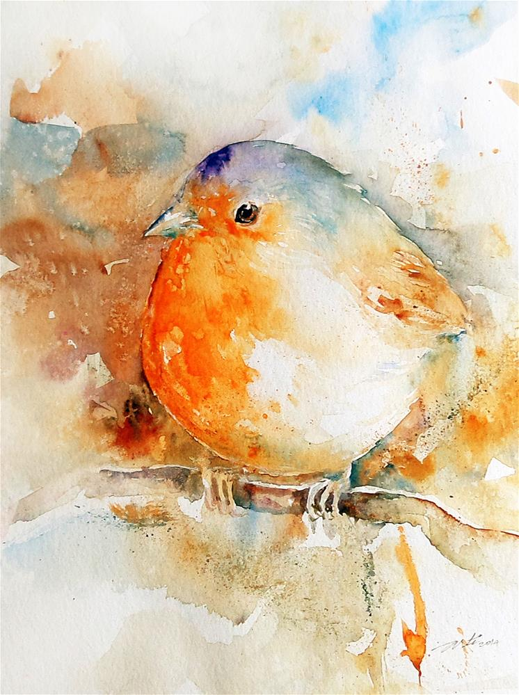 """""""Time Out"""" original fine art by Arti Chauhan"""