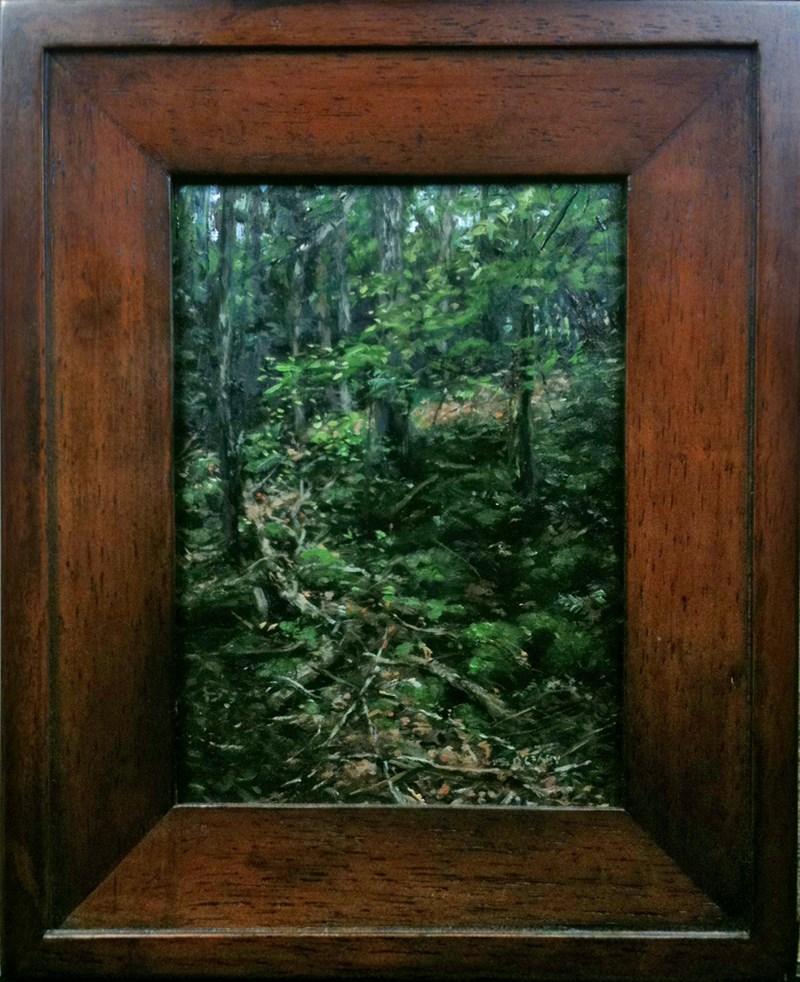 """LP 11 Following the Sunlight"" original fine art by Danny O'Leary"