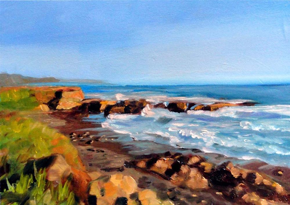 """View From Seal Court"" original fine art by Cietha Wilson"