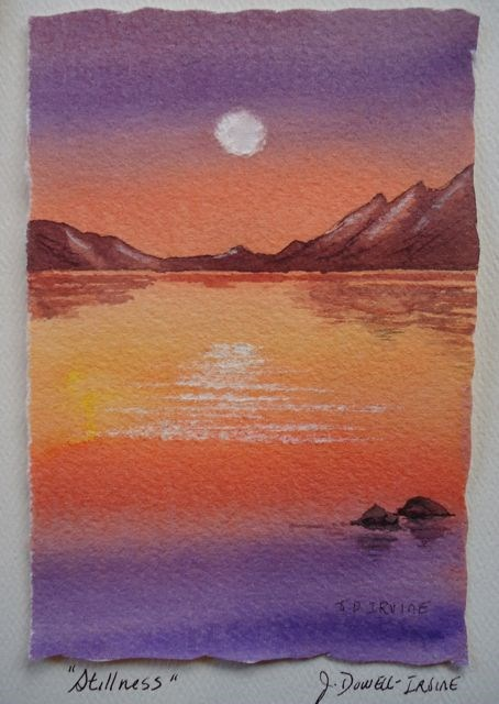"""Serenity Series No. 5"" original fine art by Jackie Irvine"