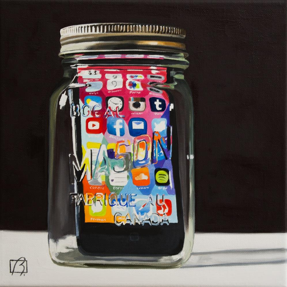 """Apple Preserves III"" original fine art by Andre Beaulieu"