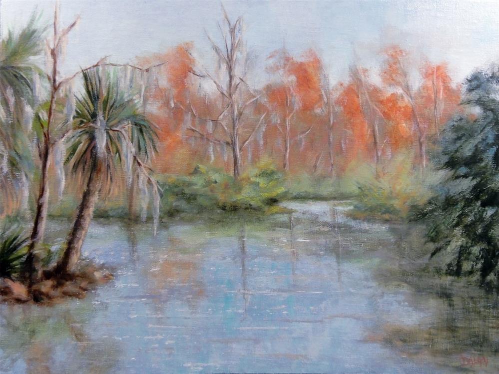 """Cypress In Winter"" original fine art by Dalan Wells"