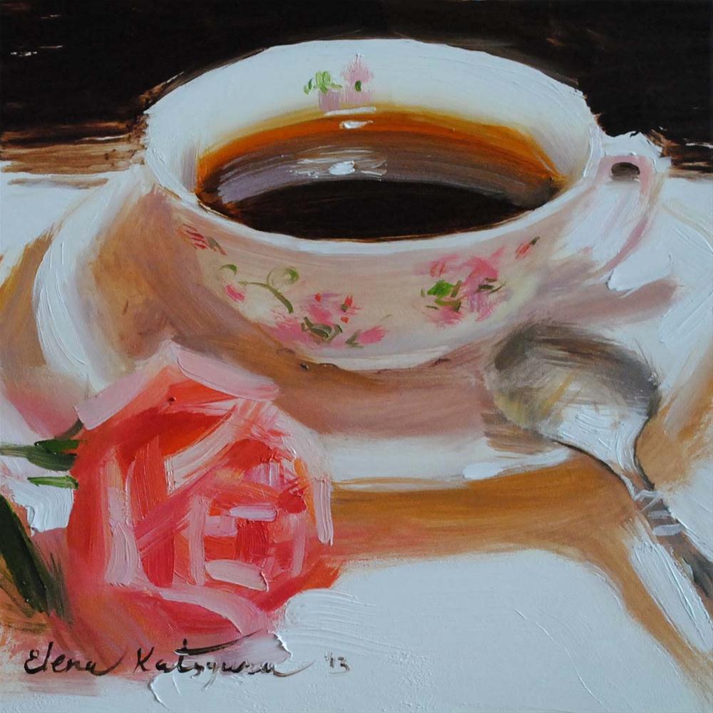 """Remembrance"" original fine art by Elena Katsyura"