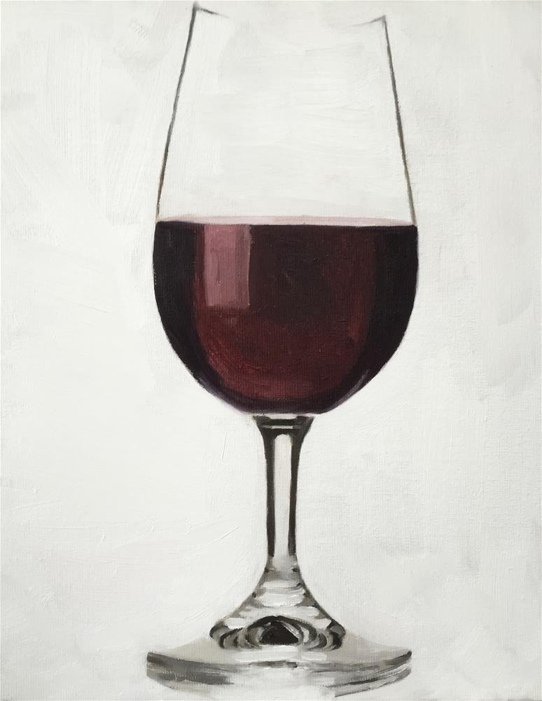 """Wine"" original fine art by James Coates"