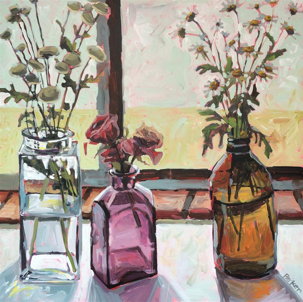 """""""Wildflower Collection"""" original fine art by Teddi Parker"""