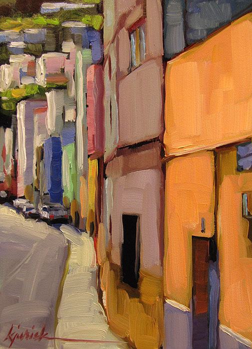 """Santa Cruz de Tenerife"" original fine art by Karin Jurick"