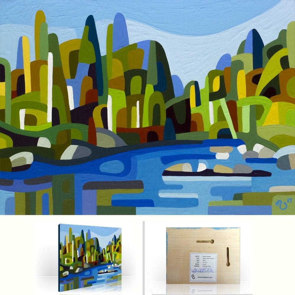 """Landscape Study #112"" original fine art by Mandy Budan"