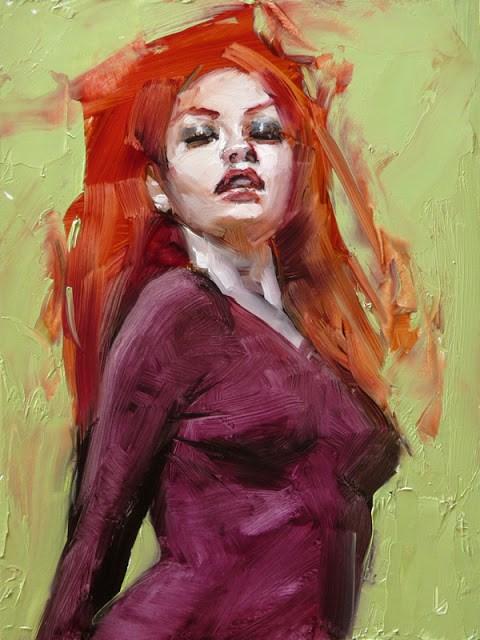 """""""Whispered Roar"""" original fine art by John Larriva"""