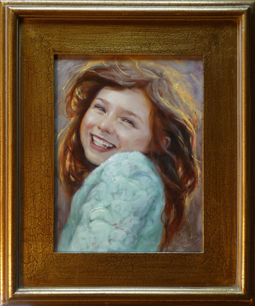 """Ava"" original fine art by John Larriva"