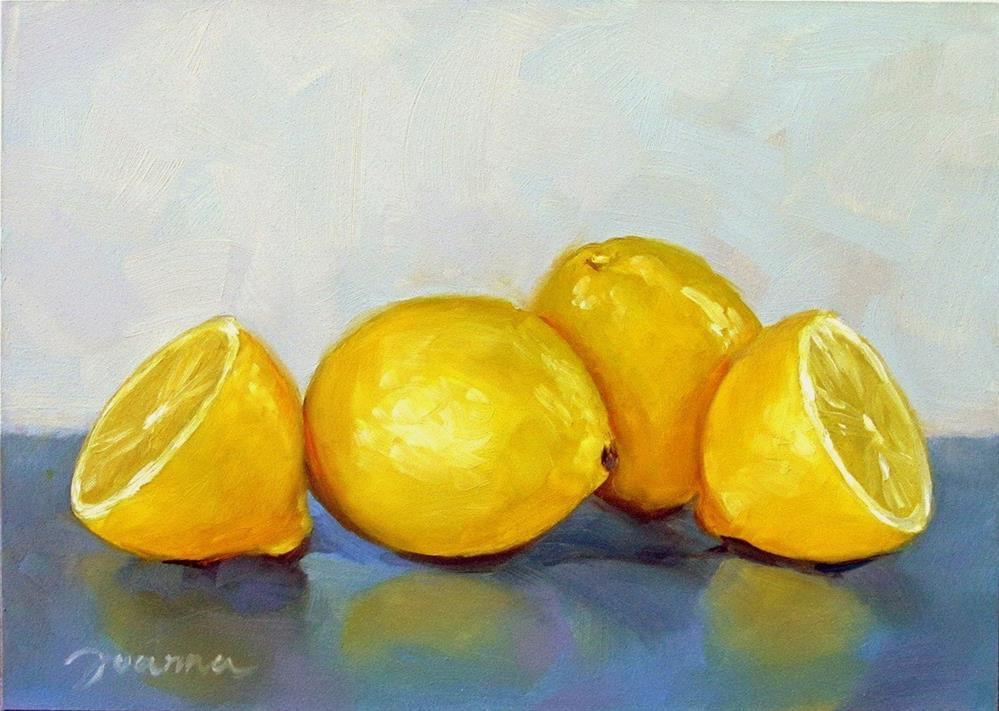 """""""Whispering Lemons"""" original fine art by Joanna Bingham"""