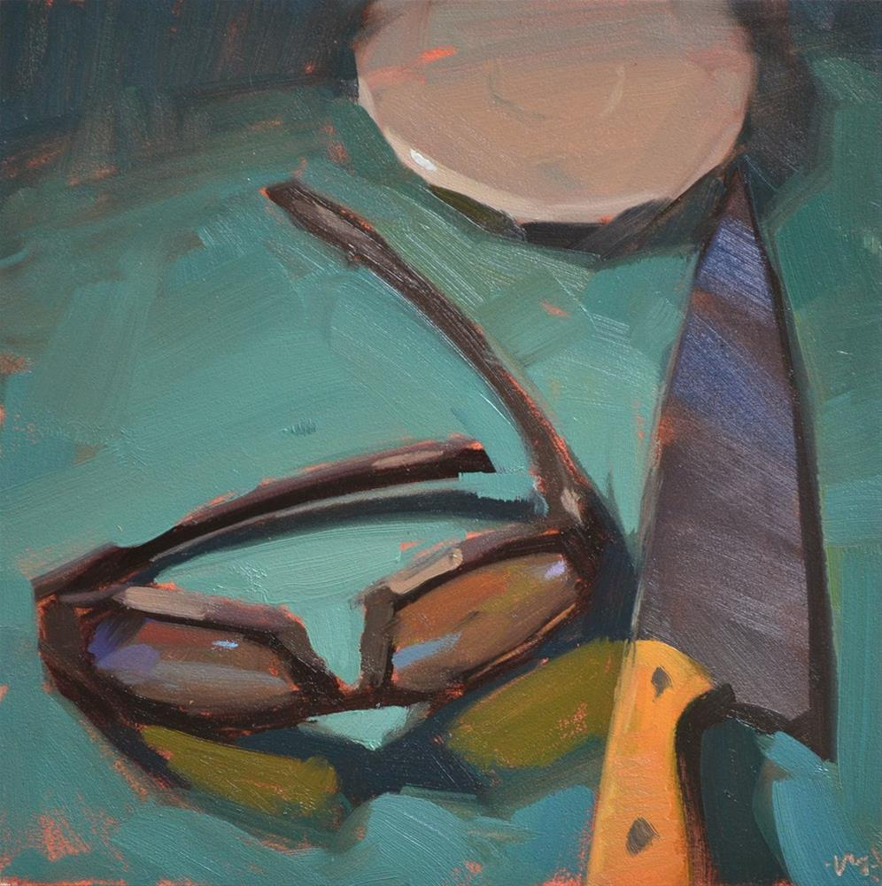 """Bad Intentions"" original fine art by Carol Marine"