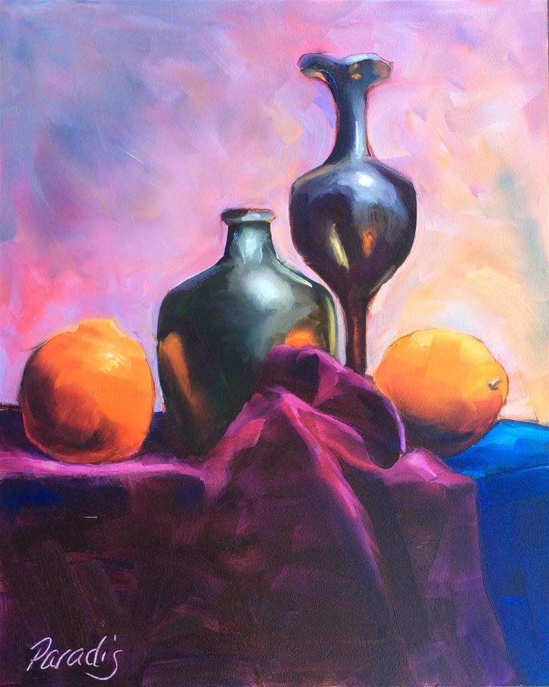 """In the Arizona Light"" original fine art by Rita Paradis"