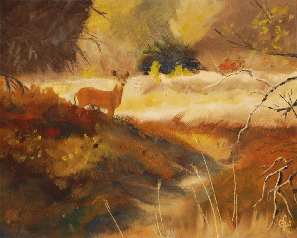 """Edge of the Woods"" original fine art by Gary Westlake"