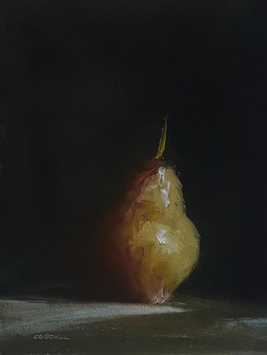 """Pear"" original fine art by Neil Carroll"