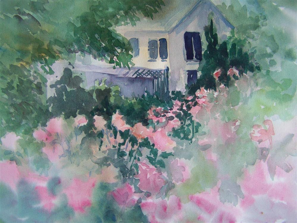 """""""Untitled"""" original fine art by Joan Reive"""