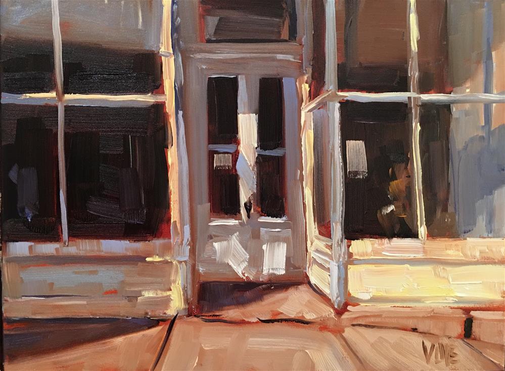 """#276 Main Street Mineral Point"" original fine art by Patty Voje"