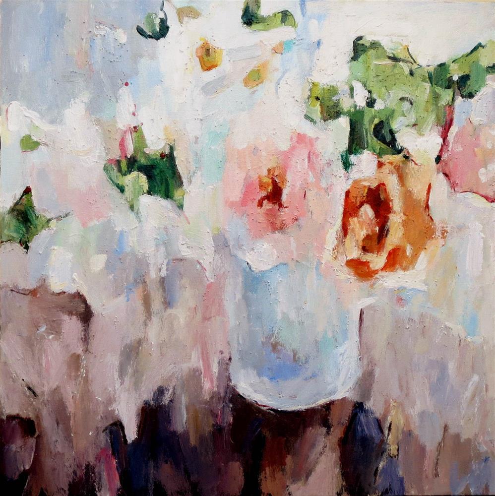 """Rose Dust"" original fine art by Nava Judith"