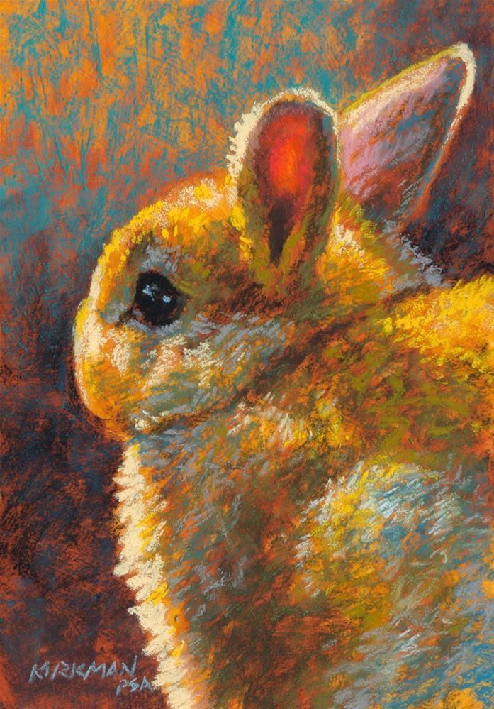 """""""Vanilla Puff"""" original fine art by Rita Kirkman"""