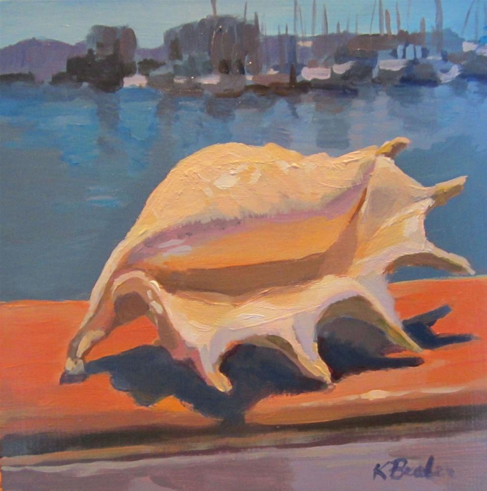 """""""The Shell"""" original fine art by Kaethe Bealer"""