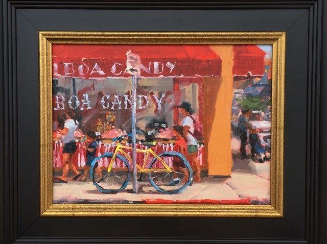 """""""Got Candy?"""" original fine art by Karen Werner"""