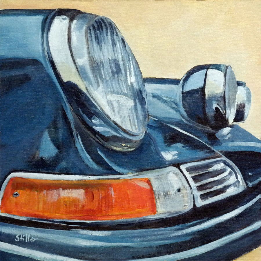 """2267 Ole Porsche"" original fine art by Dietmar Stiller"