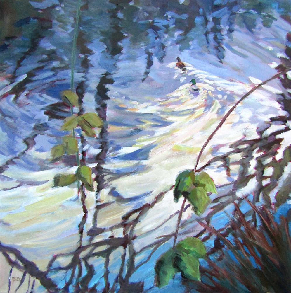 """Magic on the Water"" original fine art by Melissa Gannon"