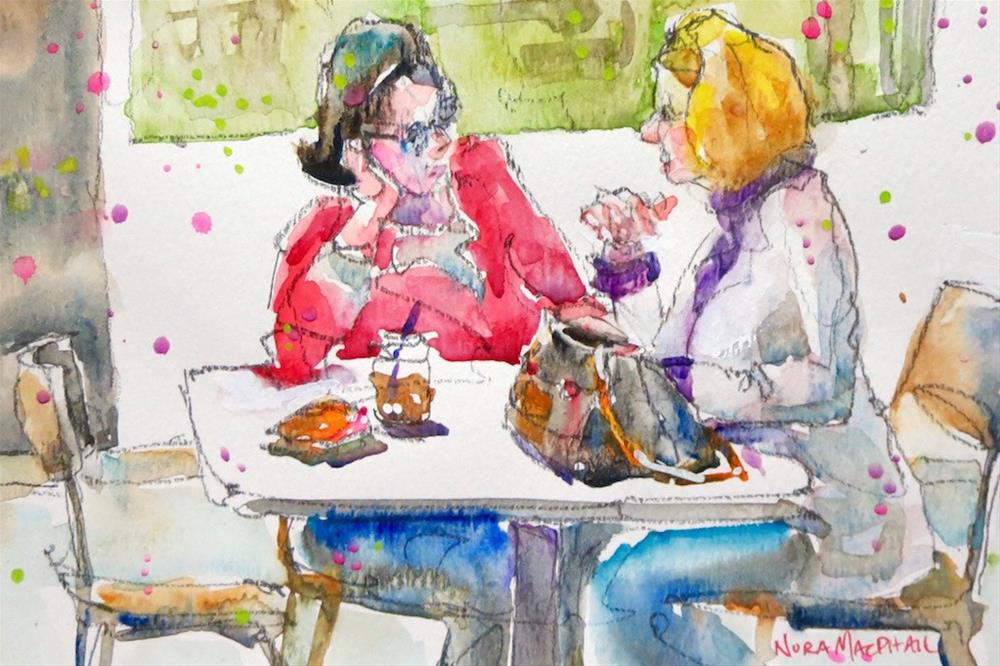 """sharing"" original fine art by Nora MacPhail"