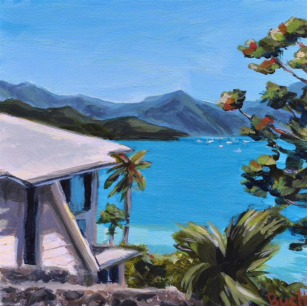 """Kaneohe Bay Drive"" original fine art by Shari Buelt"