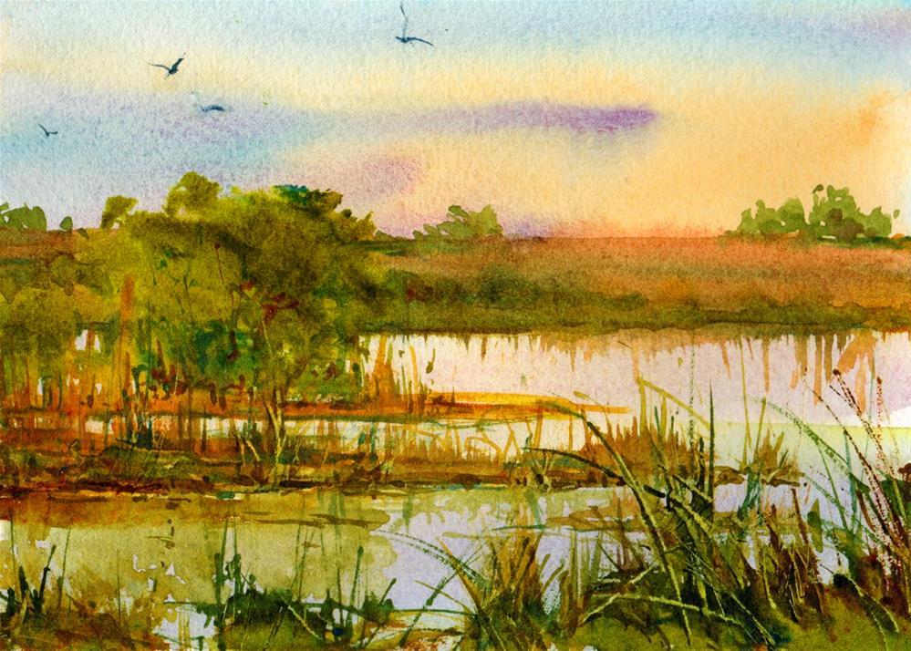 """Morning Prayer"" original fine art by Linda Henry"