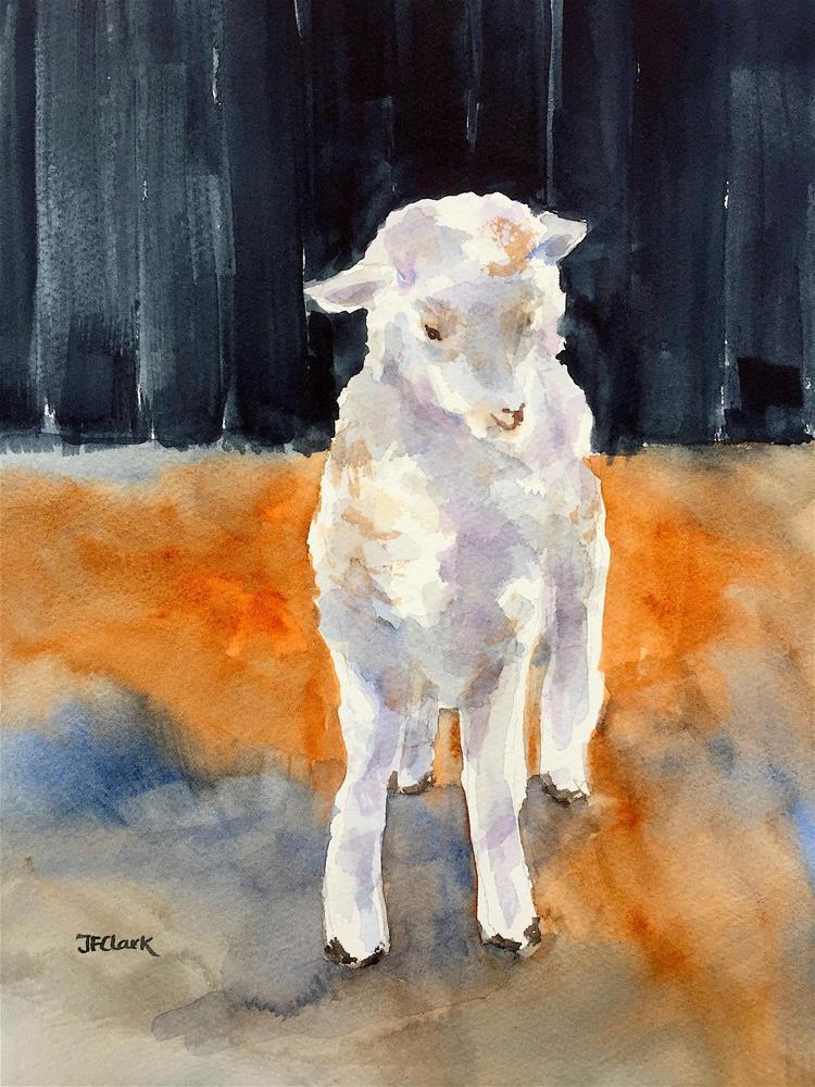 """Steady On!"" original fine art by Judith Freeman Clark"