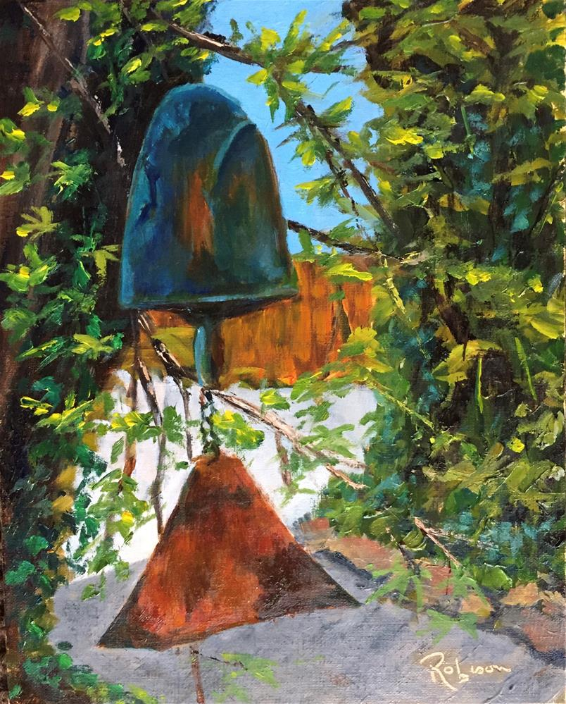 """Martha's Bell"" original fine art by Renee Robison"