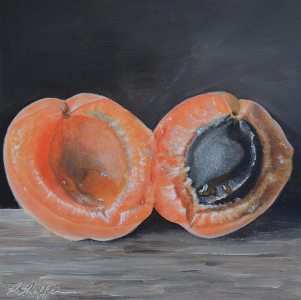 """Vitamin A"" original fine art by Renay Shaffer"