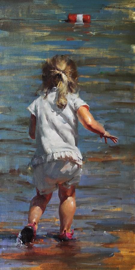 """""""Summer in Tahoe 2"""" original fine art by Fongwei Liu"""