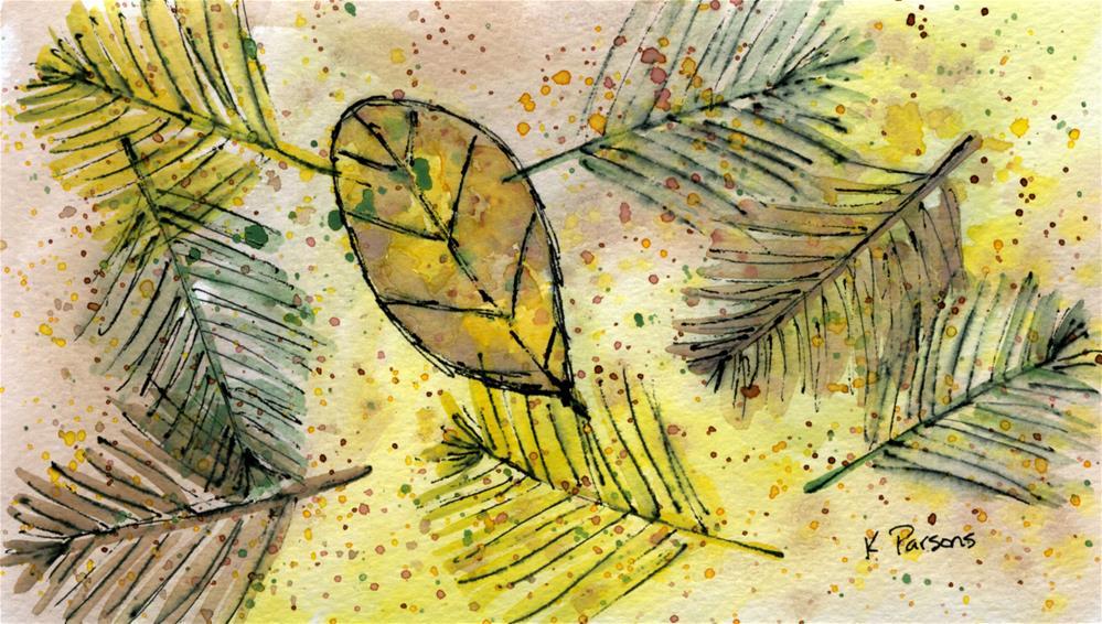 """Found by the Creek"" original fine art by Kali Parsons"