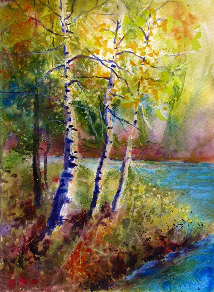 """""""Basking in the Light"""" original fine art by Melissa Gannon"""