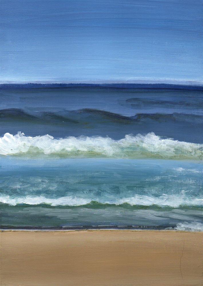"""Tenacious"" original fine art by Debbie Shirley"